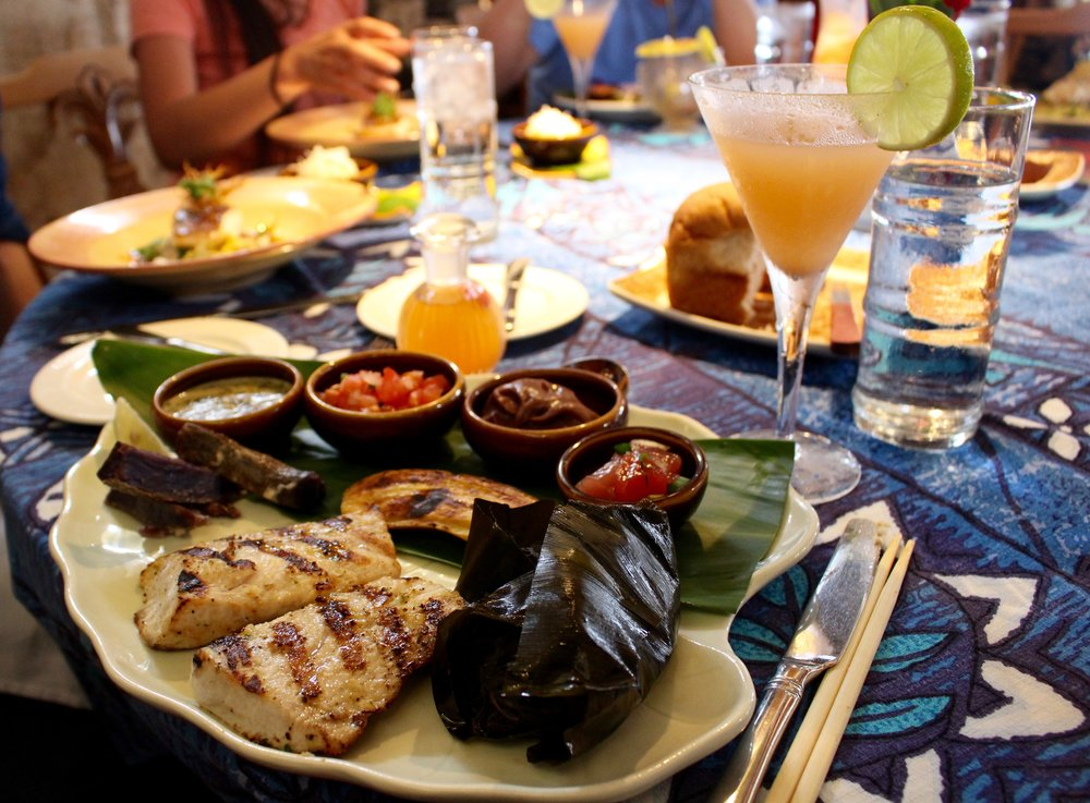 The Traditional Hawaiian includes Mahimahi and Wild Boar.