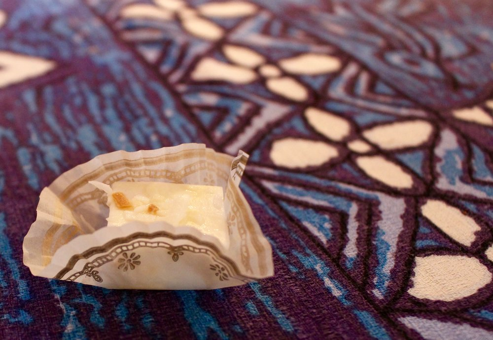 Another treat from Mama, this was a bite-sized coconut dessert.