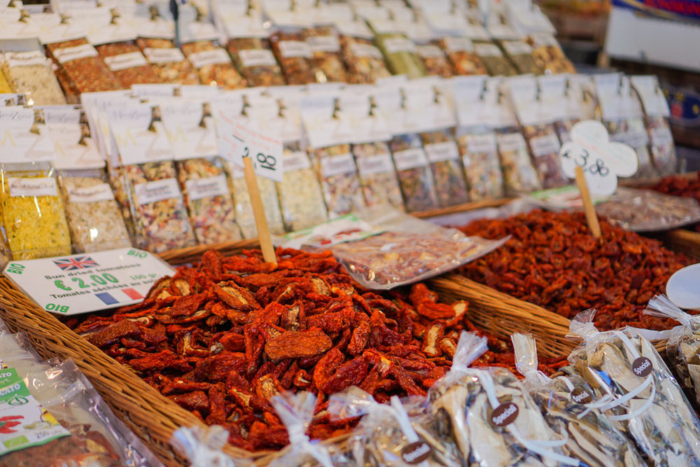 Sun-dried tomatoes. Venice, Italy