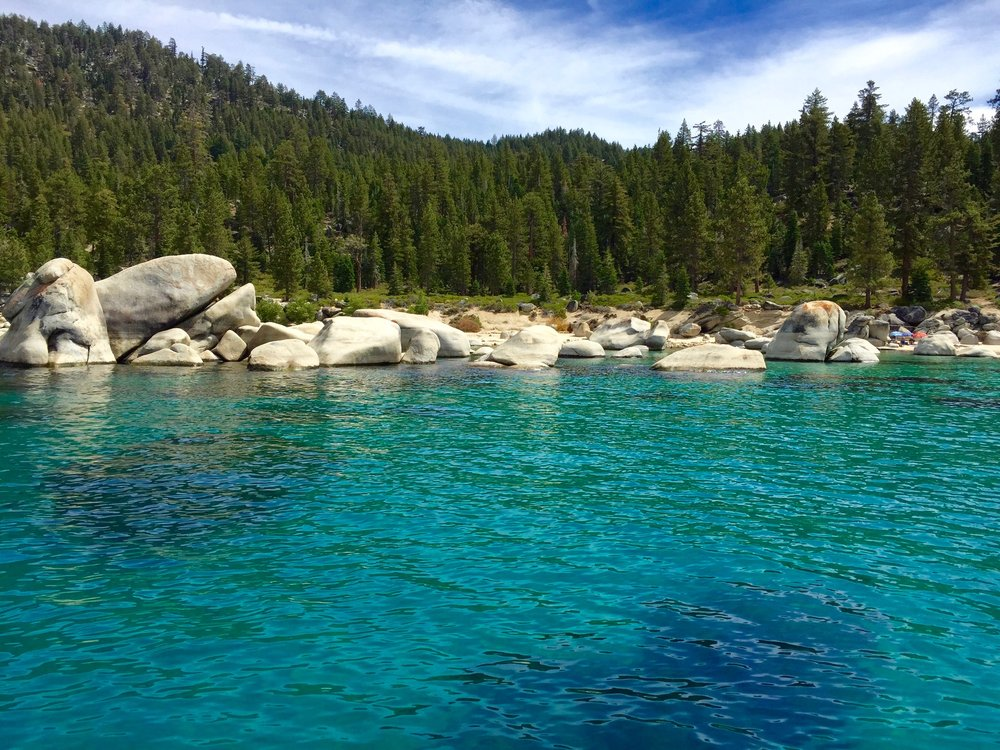 Lake Tahoe is only a ~4 hour drive from San Francisco.  Keep Tahoe Blue!  (September, 2016)