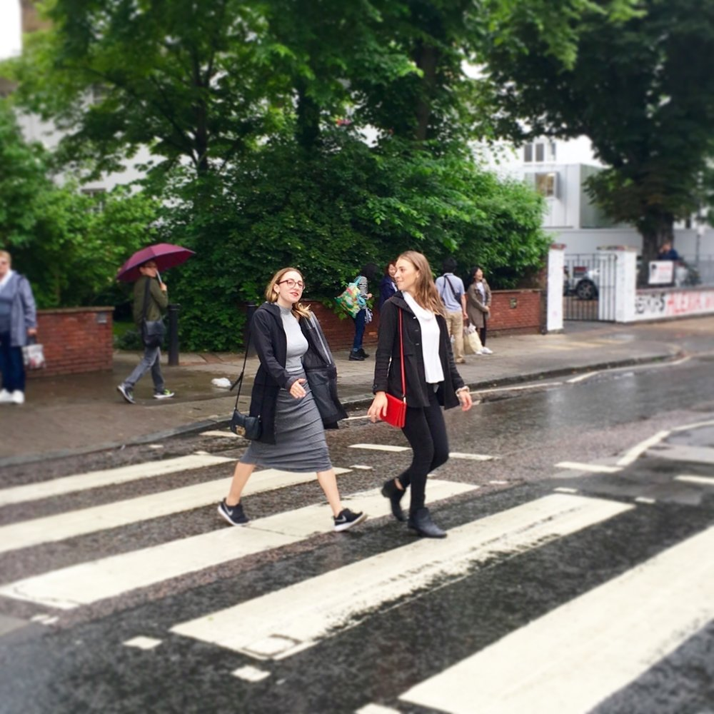 "My main takeaway from 2016 is that the ""one thing I can tell you is you got to be free. "" (Abbey Road, London)"