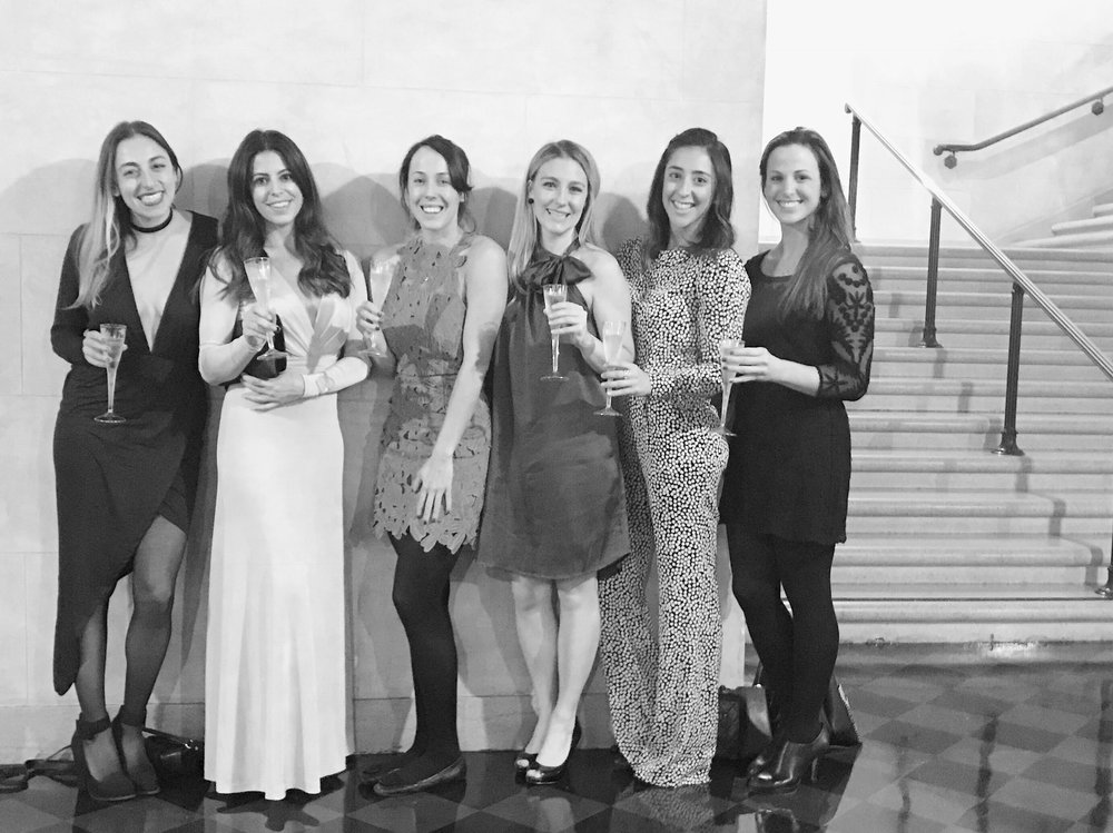 A night at the ballet with friends and bubbly. (December, 2016)