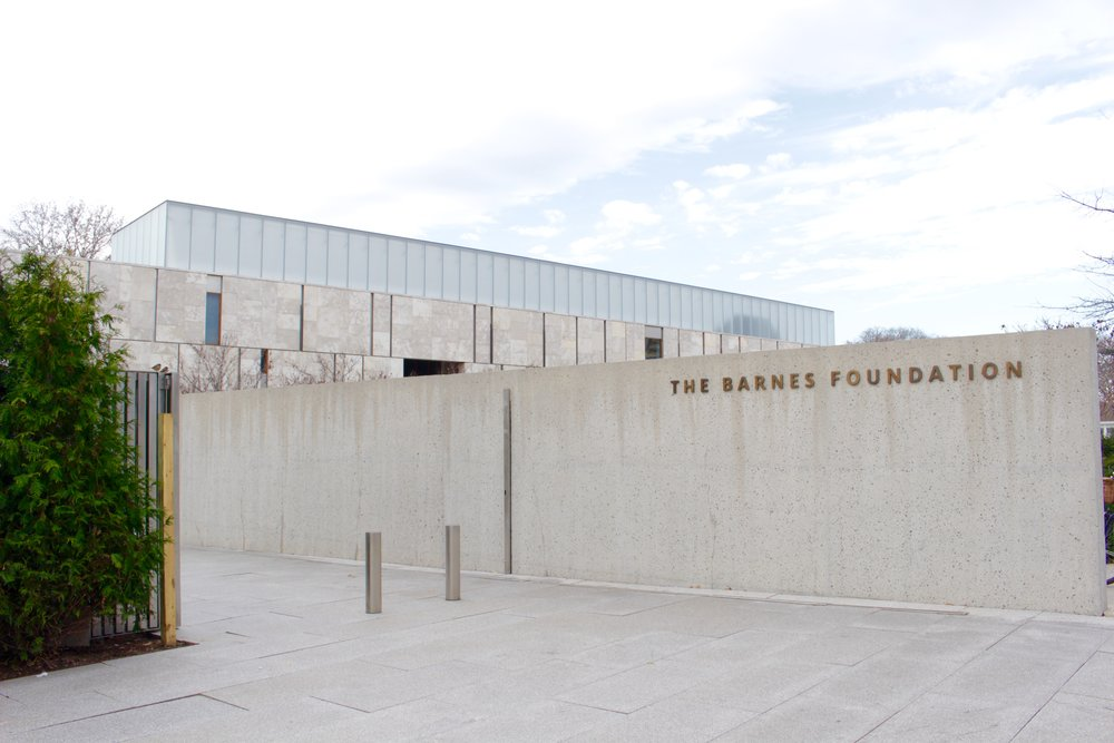 Visit the Barnes Foundation to see the personal collection of Albert C. Barnes who spent years of his life dedicated to the study and collection of art.