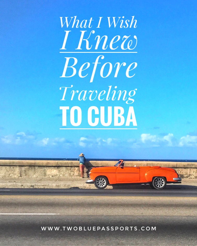 Reasons for going to cuba