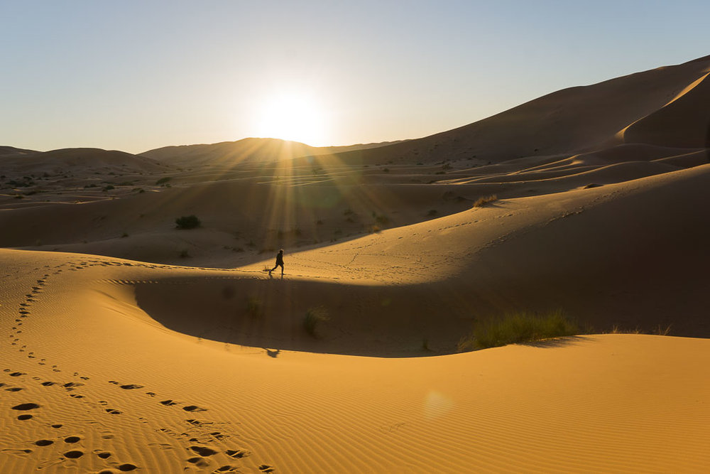 A Night in the Sahara Desert of Morocco — Two Blue Passports