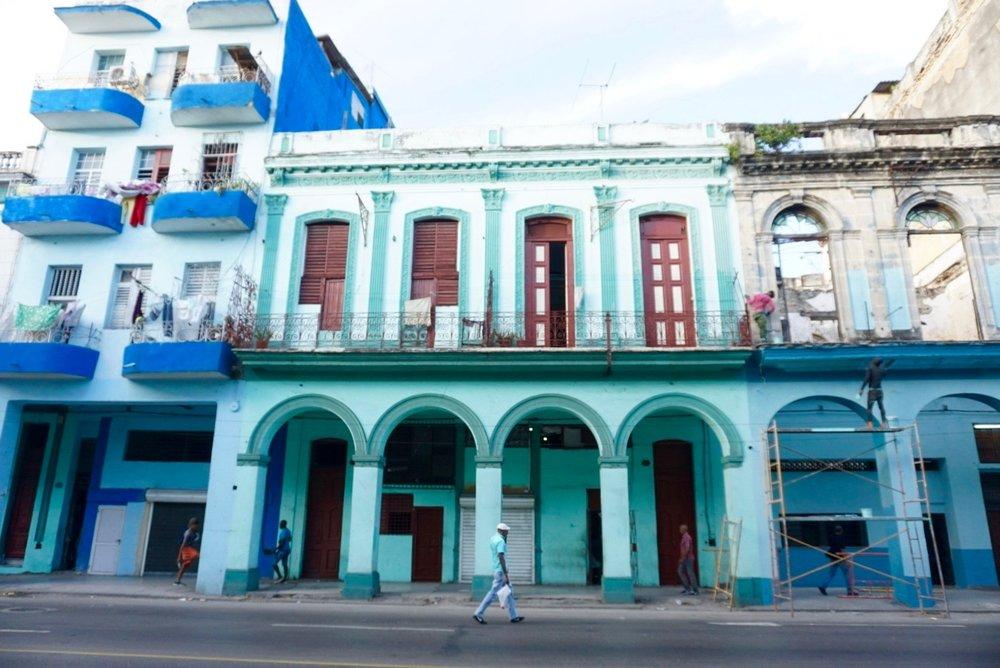 The streets of Havana, Cuba.