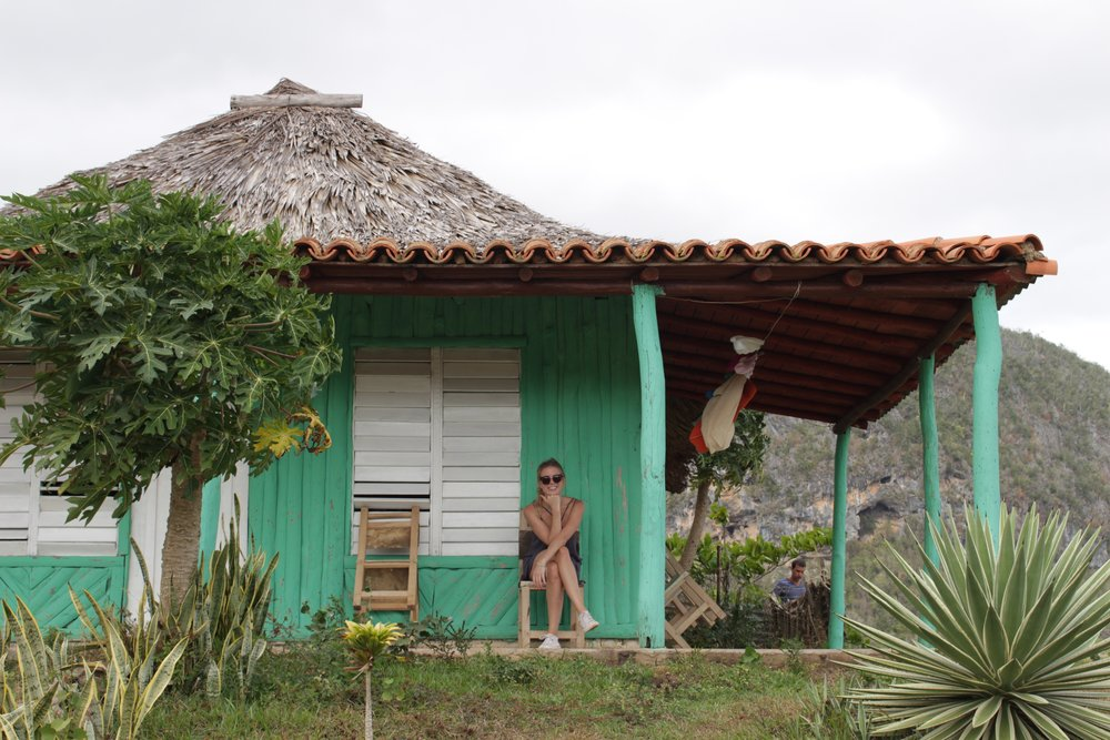 A cute little casa in Viñales.