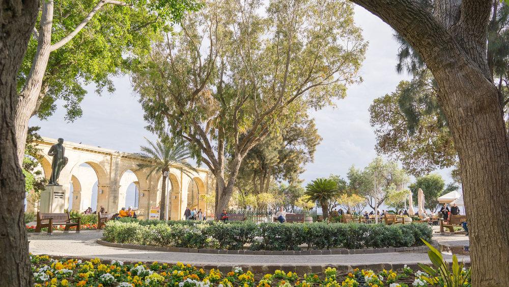 Upper Barrakka Gardens.
