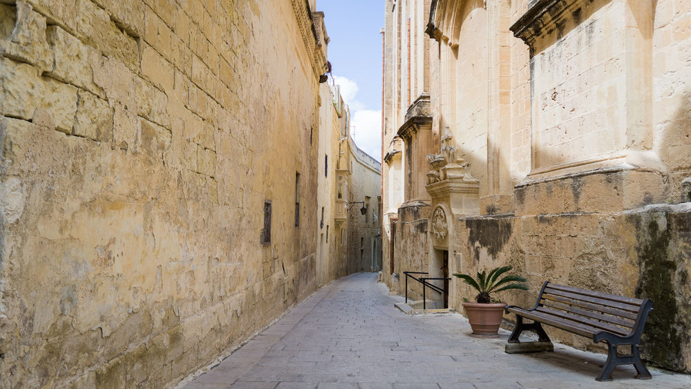 Quiet corners of Mdina.