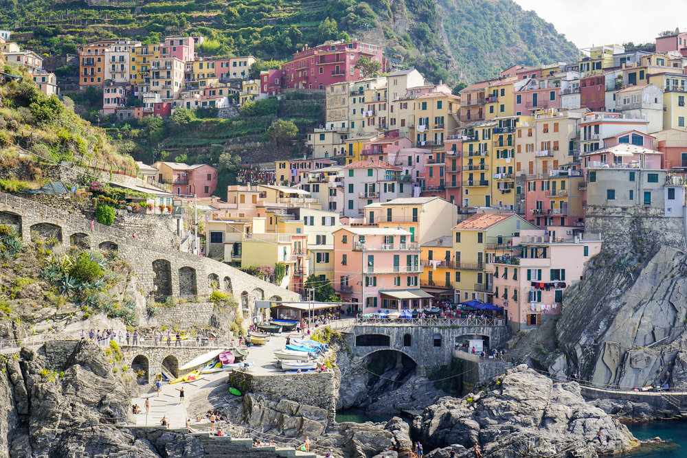 Cinque Terre Hiking and Relaxing on the Italian Riviera  Two