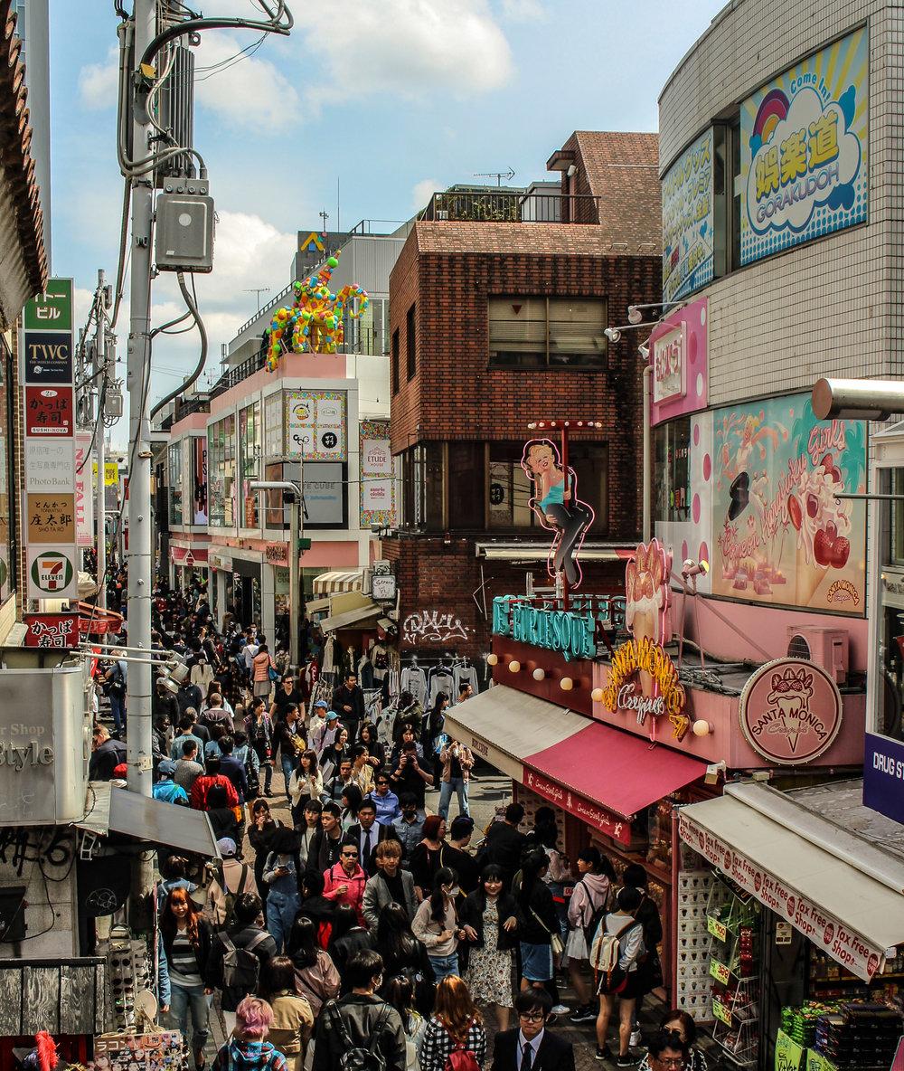 Harajuku Shopping District