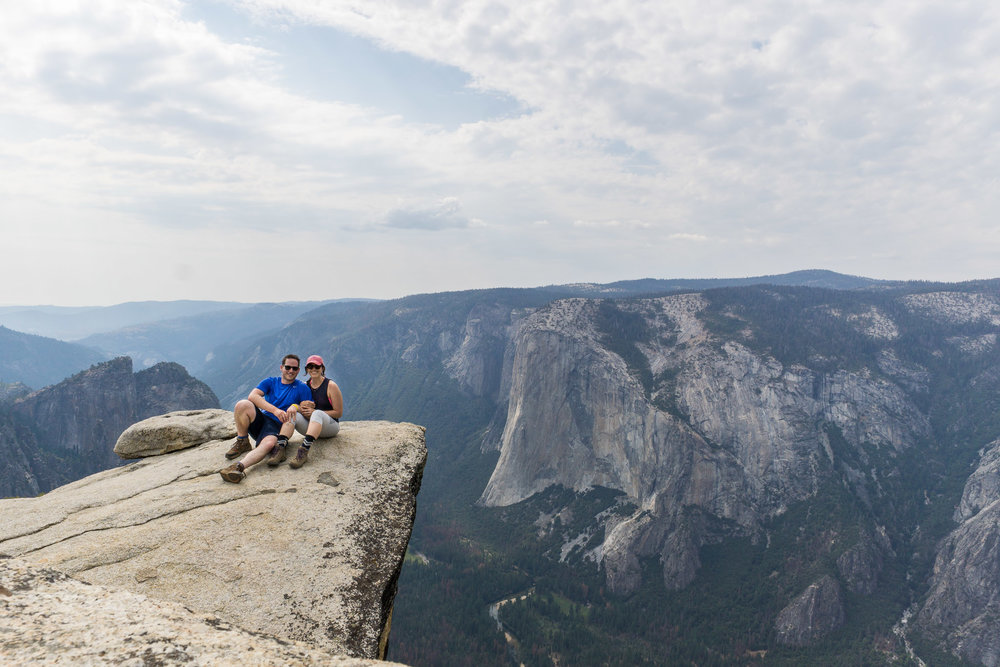 Taft Point Yosemite National Park. August, 2017