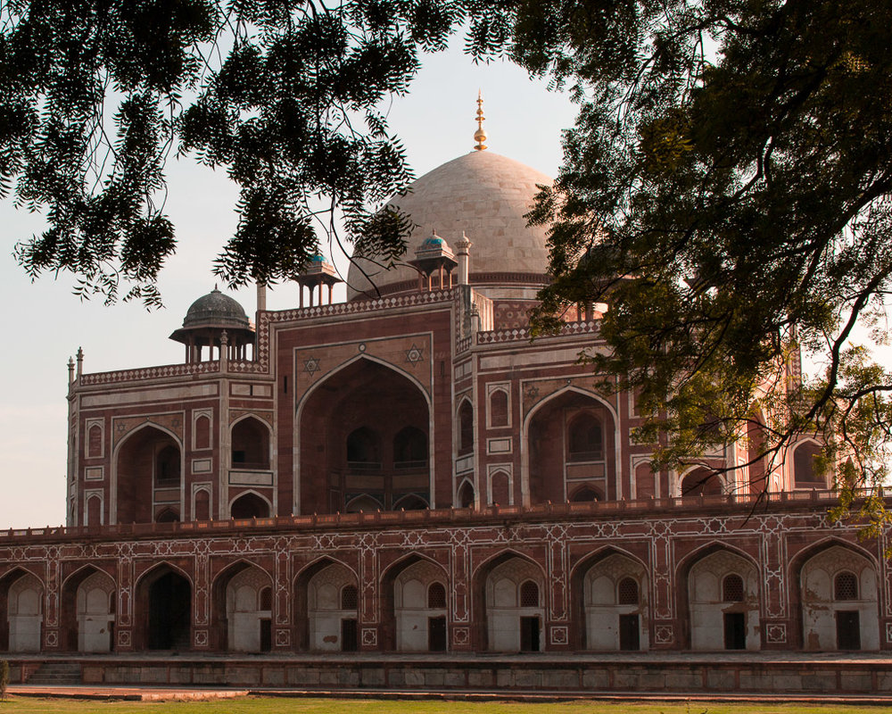 Humayun's Tomb was one of my favorite sights in Delhi.