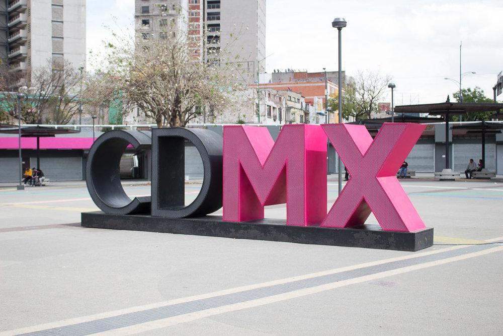 Mexico City's abbreviation is CDMX ( Ciudad de México).