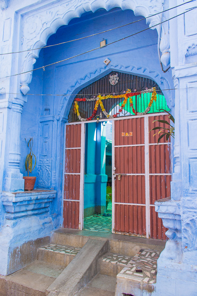 There were so many gorgeous houses throughout the streets of Jodhpur.