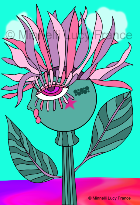 Punky Flowers 1 © Minnelli Lucy France sm2.png