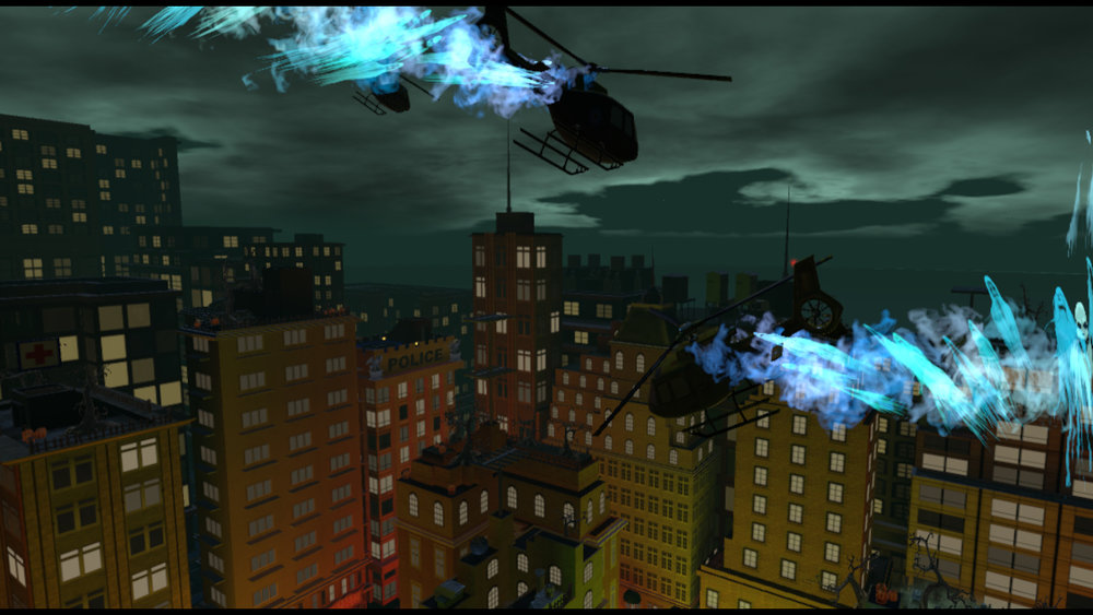 Possessed Helicopters