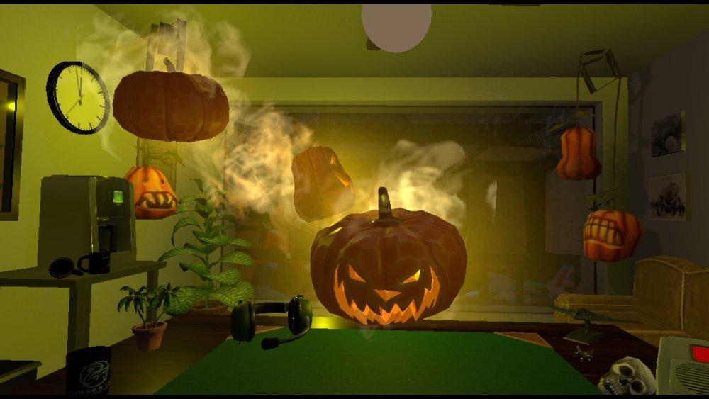 Halloween has taken over Final Approach!