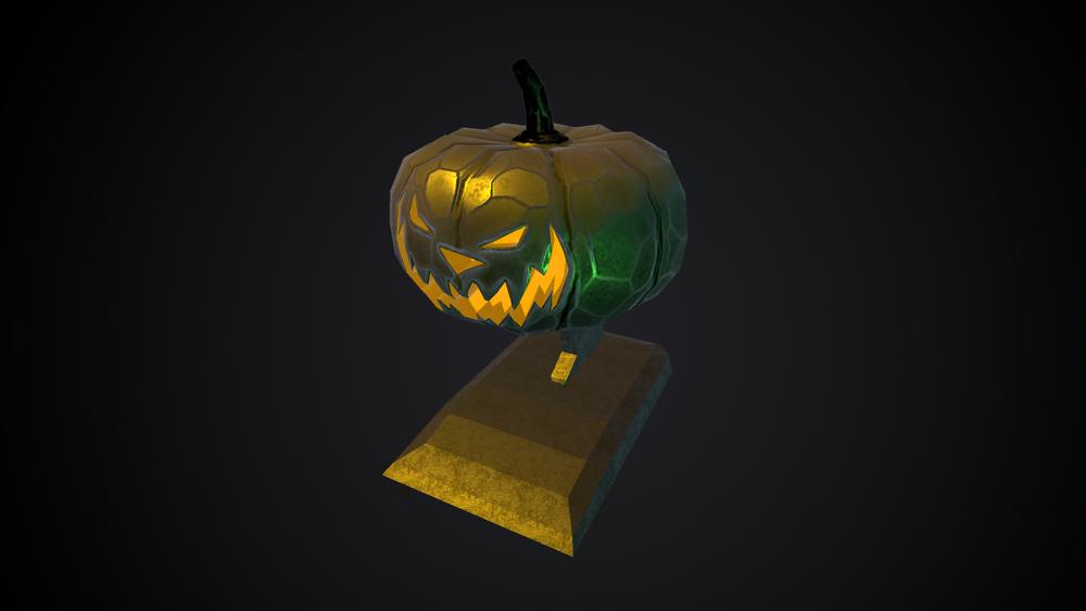 Exclusive Pumpkin Trophy