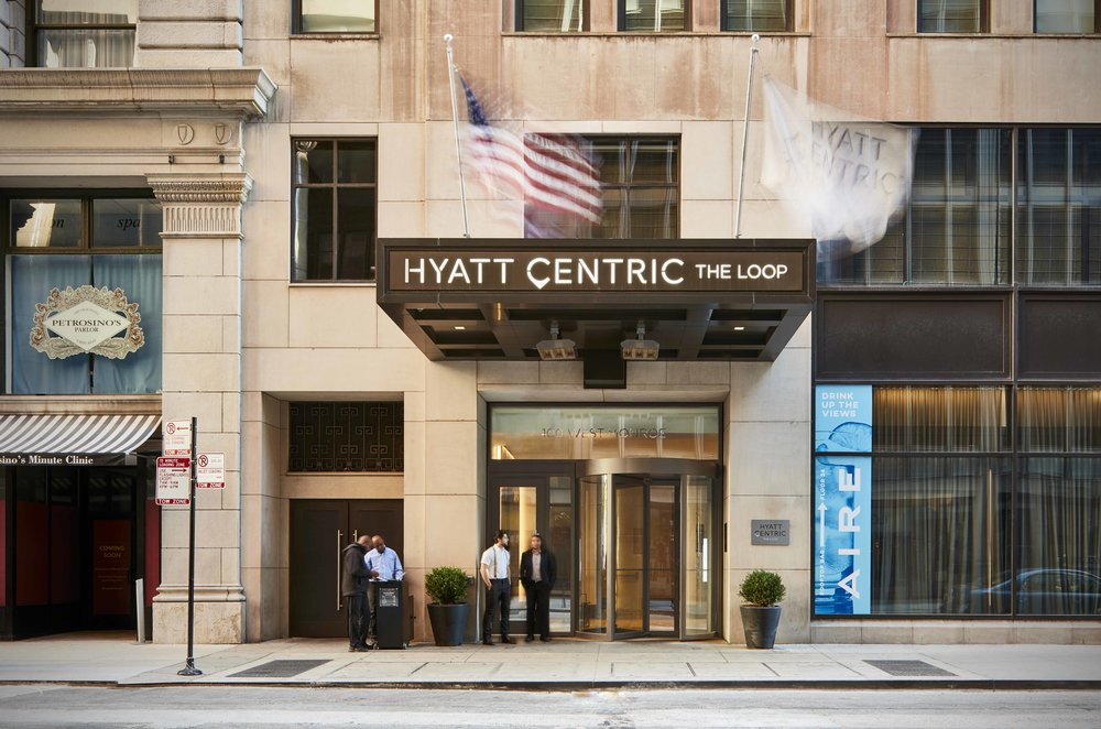 "Hyatt Centric ""The Loop"" - Chicago, IL Developed by MDG, Asset Management by MAM"