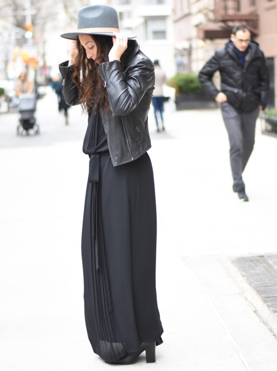 Jenny Greenstein of  YourSoulStyle  in our  Grace Dress  in Black