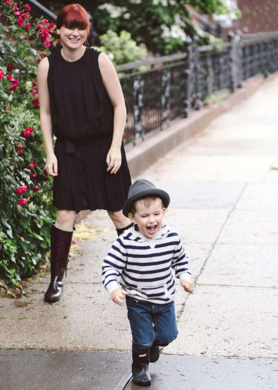 Christy wears Mitera's Ellen Dressin Black - Photo by Shannon Roddy