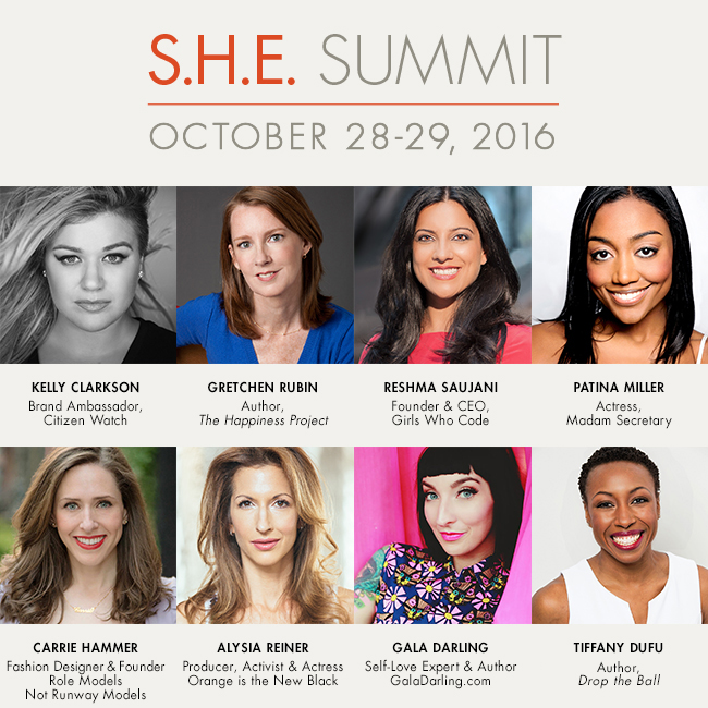 S.H.E Summit 2016 Speakers
