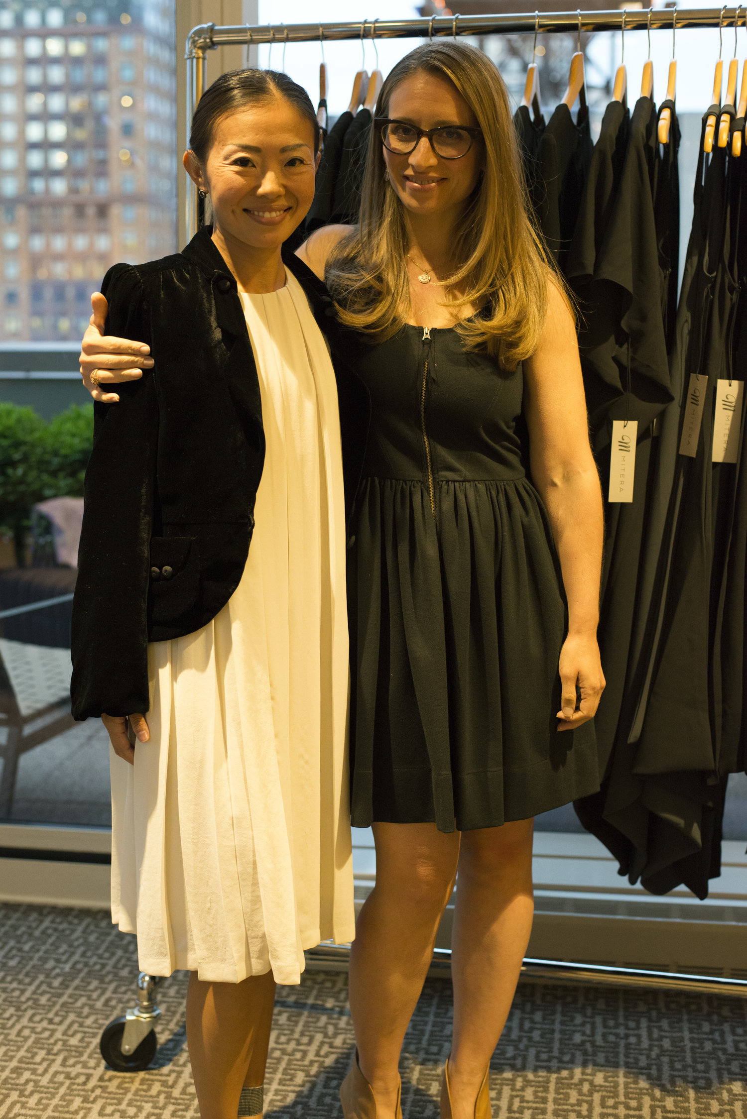 Yoko Shimada, Founder of  Mitera  and Randi Zinn of  Beyond Mom , event's co-host.