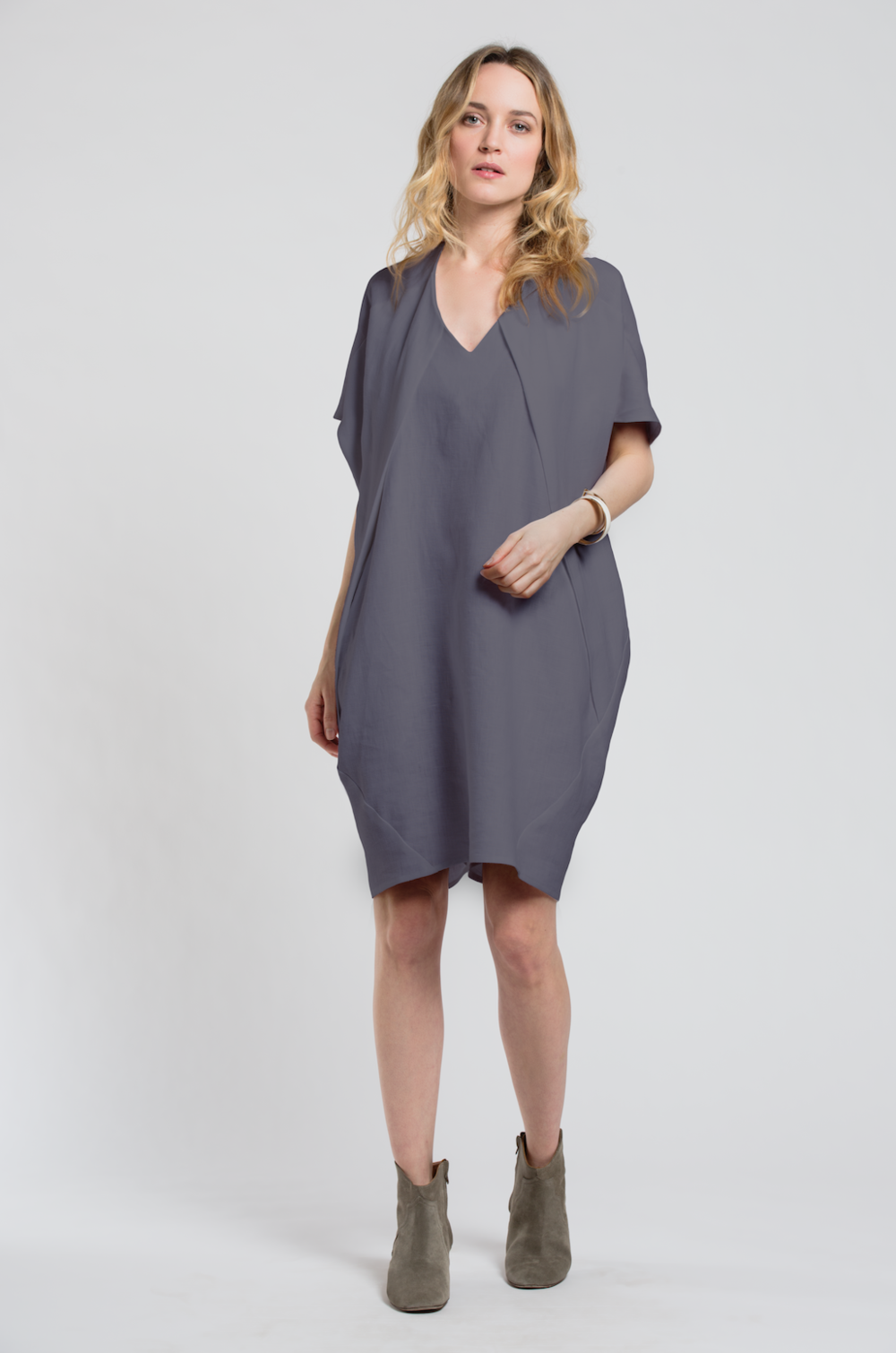 Elif Dress 2.0 Slate