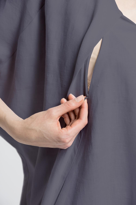 Elif Dress 2.0 Zipper Opening