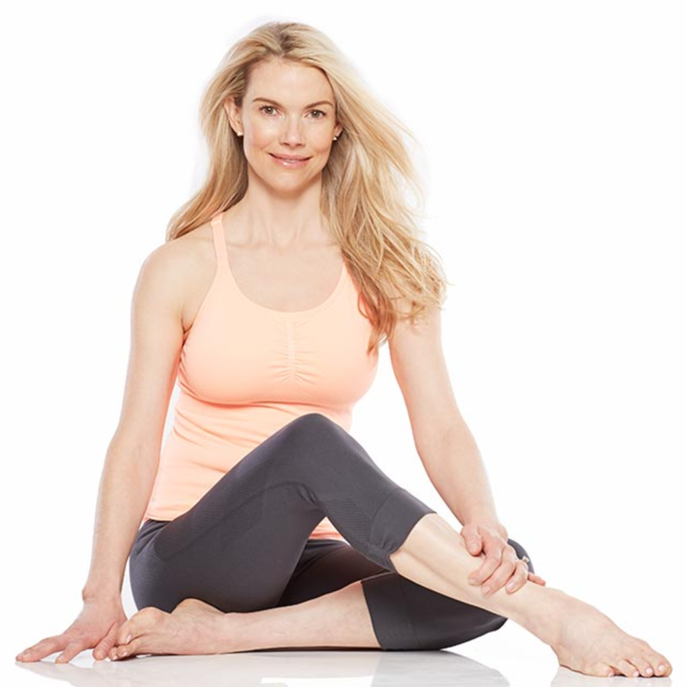 Kristin McGee, a nationally recognized celebrity yoga and Pilates teacher, speaker, and author of Chair Yoga: Sit, Stretch, and Strengthen Your Way to a Happier, Healthier You (due January 17, 2017) has been at the forefront of the yoga industry since the 90's. She is a sought after trainer with a roster of high profile celebrities including LeAnn Rimes Cibriann, Emilia Clarke, Tina Fey, Bethenny Frankel, Savannah Guthrie, Steve Martin, and Christine Taylor Stiller. She's appeared on Access Hollywood, CNN, Fox, Good Morning America, The Early Show, and the Today Show and has been featured in Fitness, Glamour, Health, InStyle, People, Prevention, Shape, Vogue, and Women's Health. Named one of the top 100 most influential yoga teachers in the U.S. by SONIMA in 2016, Kristin is a contributing editor at Health Magazine, a spokesperson for Power Pilates Gym on HSN, and a brand ambassador for multiple brands. She is a mom to Timothy and expecting twins this winter.