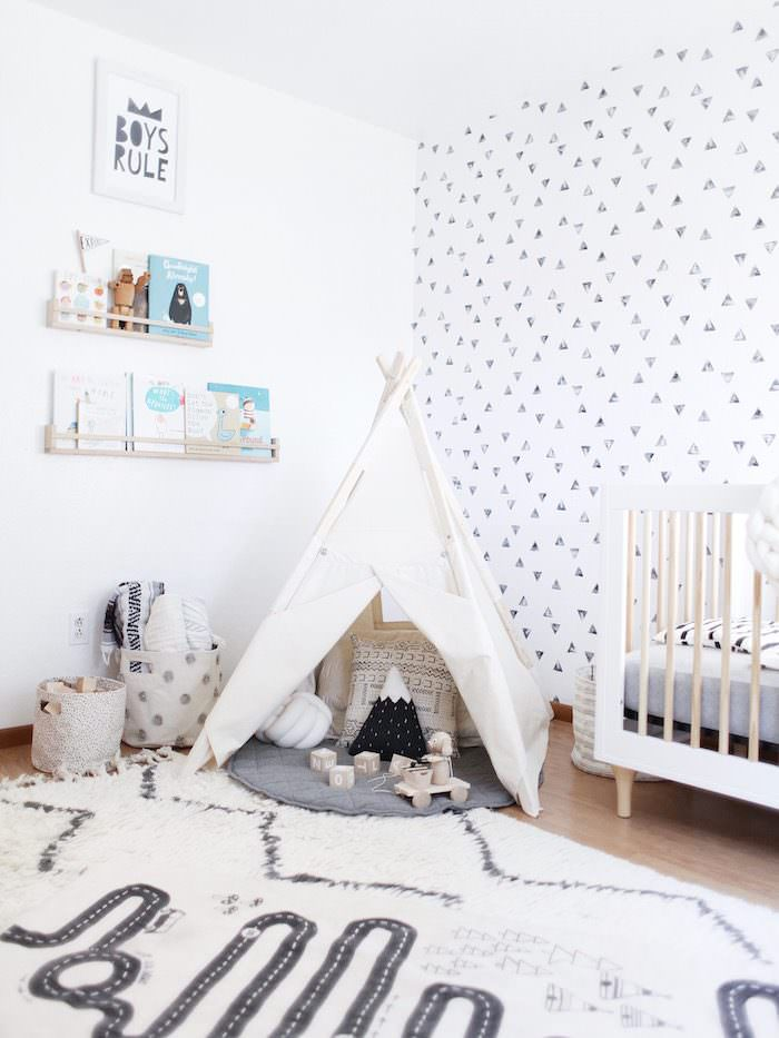 Teepees are such a fun addition to this nursery!      Lyzy & Co