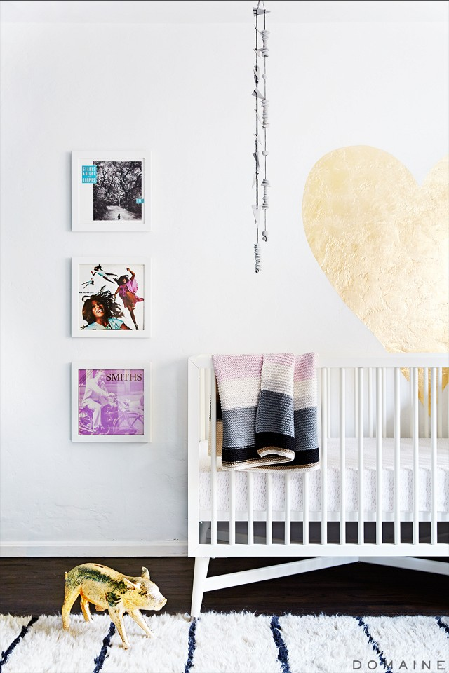 Fall Out Boy guitarist Joe Trohman and his artistic wife Marie Goble makes sure their daughter Ruby is surrounded by music every night.    My Domaine