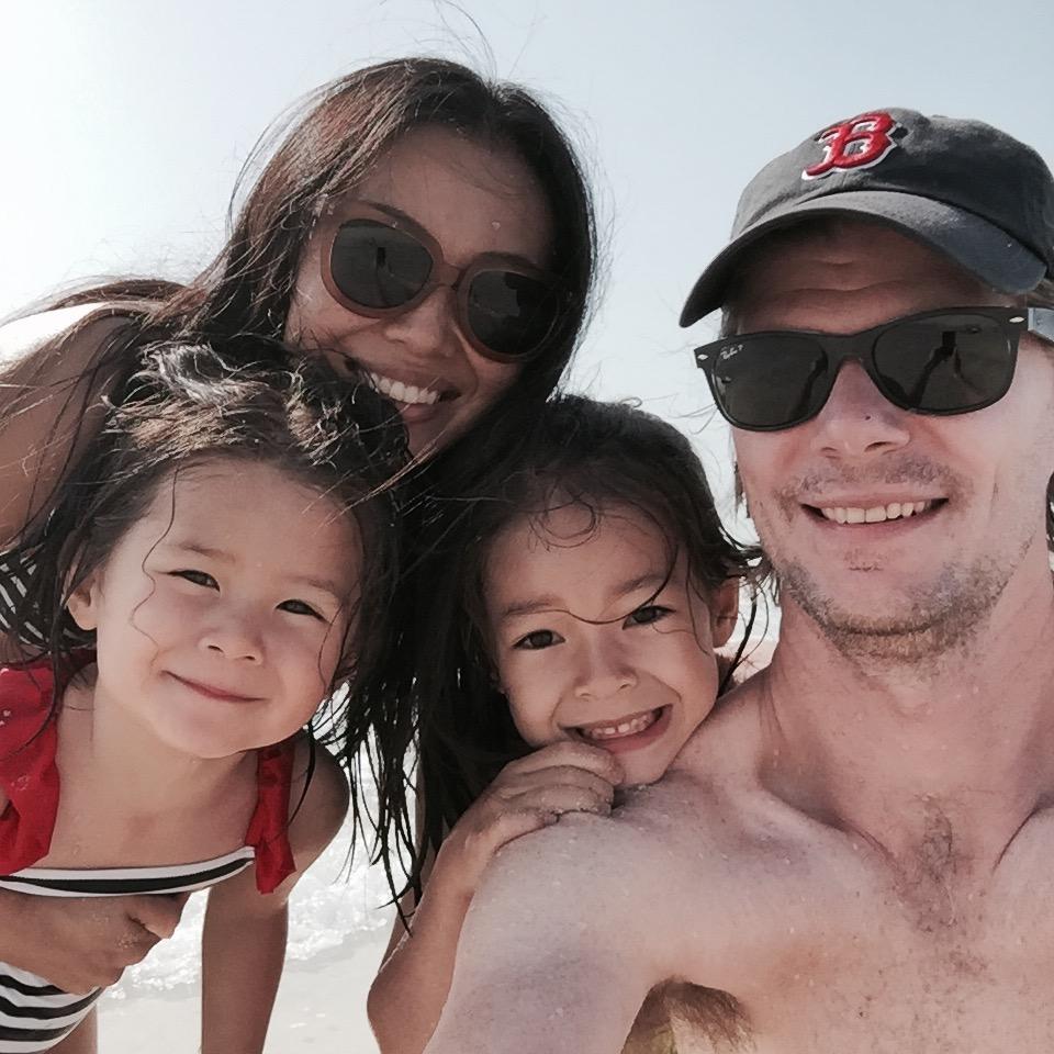 A rare family shot