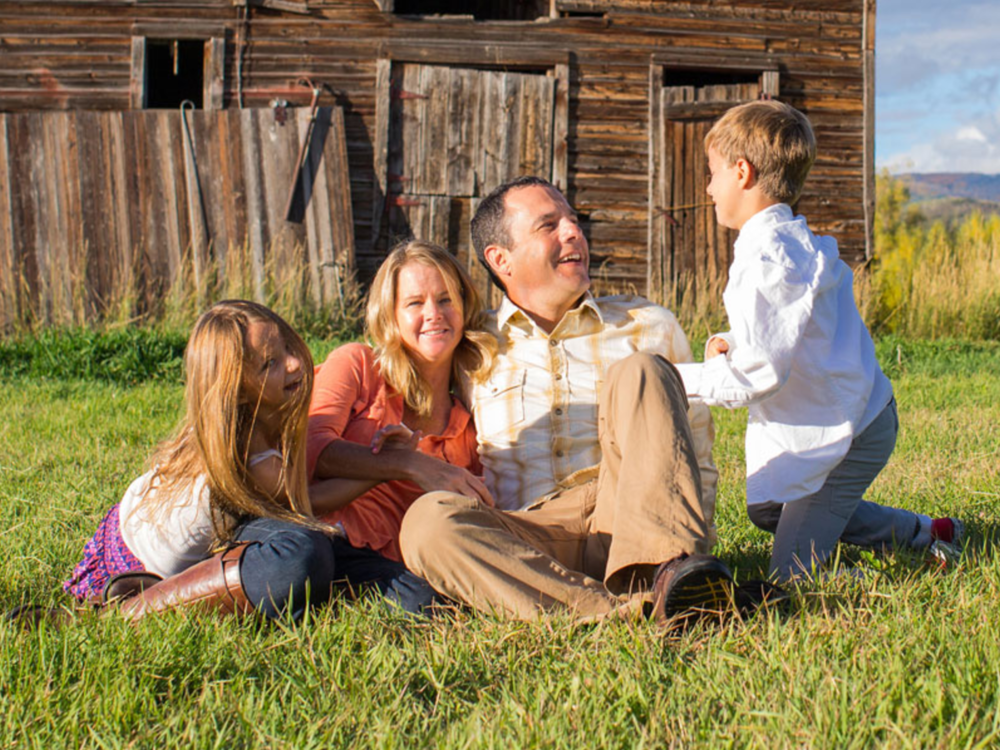 Dr. Kristen Race and Family