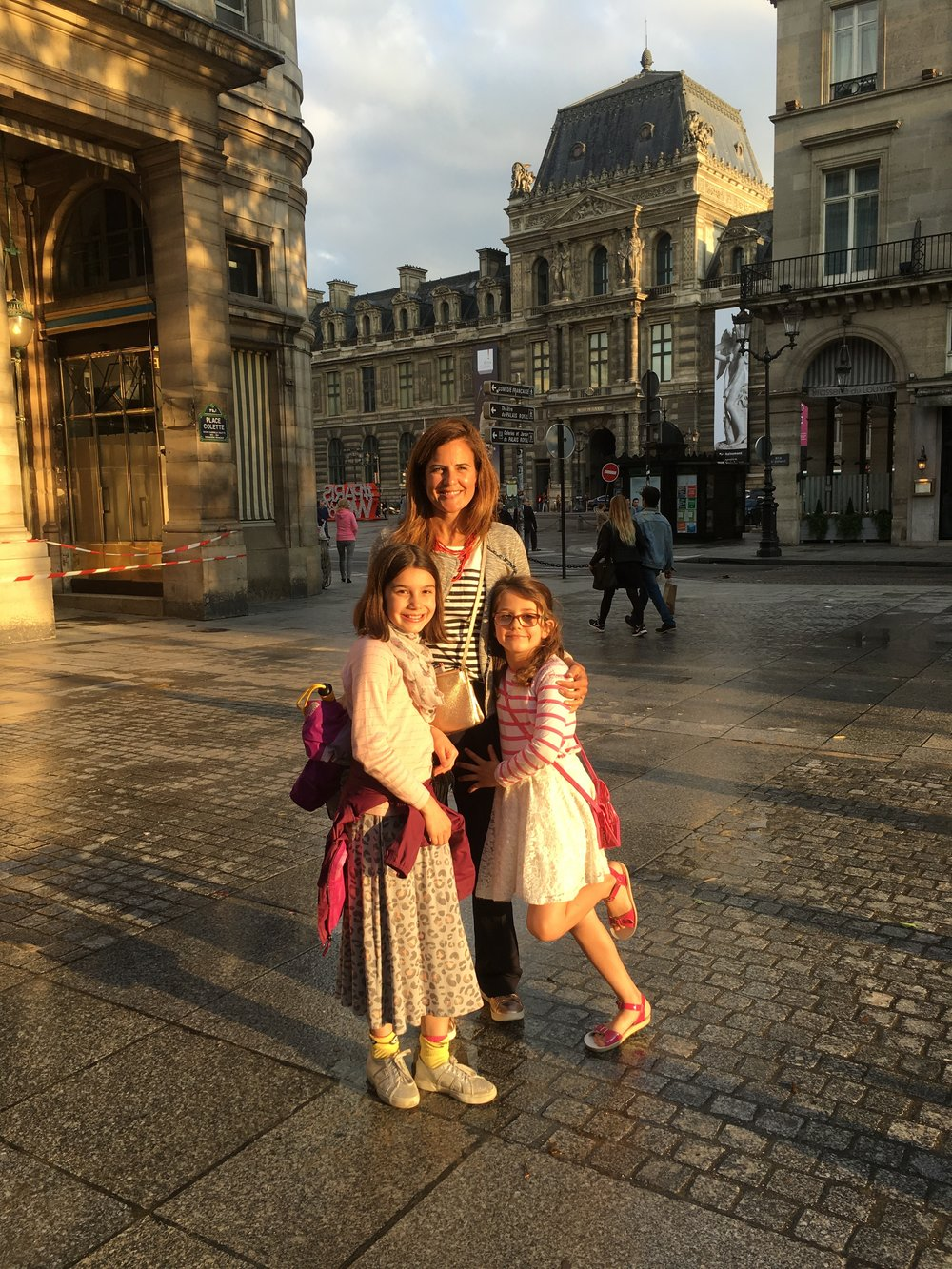 Nicole, with her two daughters