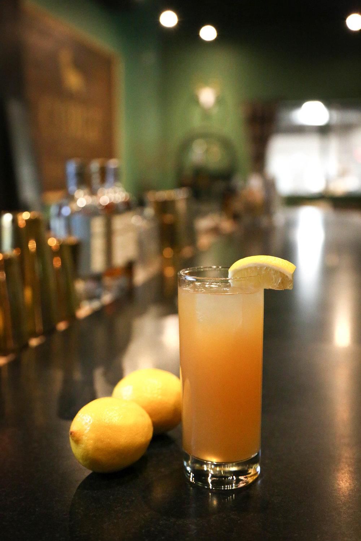 ARNOLD PALMER   2oz Corgi Spirits Earl Grey Gin  .5 lemon juice  .5 simple syrup  1oz water    Shake, serve over ice