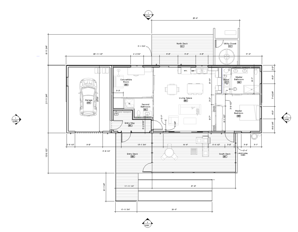 Enable is 994 square ft., has 2 bedrooms and 2 bathrooms, and is designed to meet accessibility requirements – such as wheelchair accessibility – outlined in the Americans with Disabilities Act.