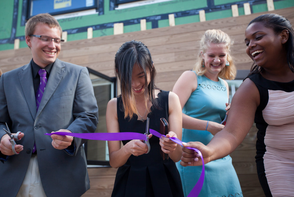 HBN students at Enable's ribbon cutting celebration in August 2017.  Photo credit: Sally Ryan