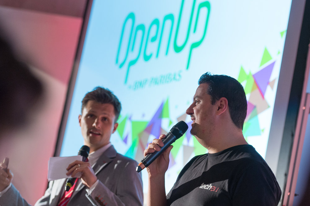 Jason McDonald and Robin Wauters at OpenUp BNPP kick-off event.jpg