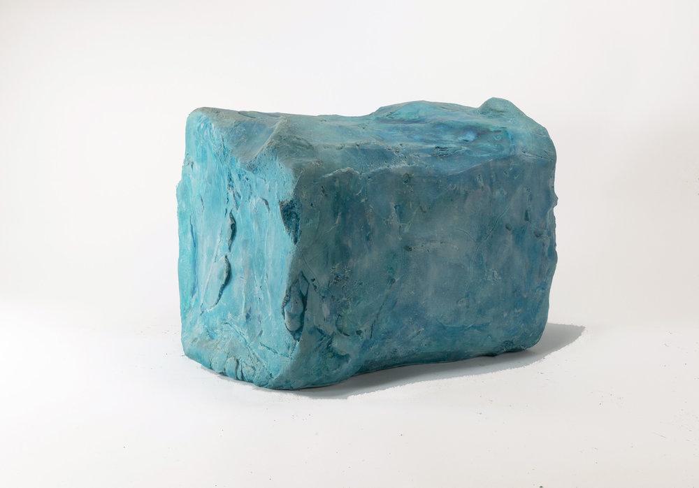 Gum , plaster, 8 x 8 x 10 in, 2014.