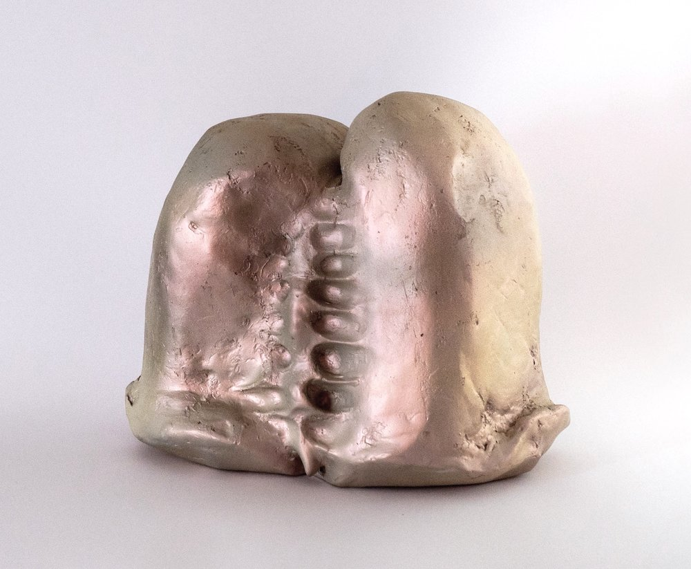 Sacrum , resin, 10 x 10 x 8 in, 2012.