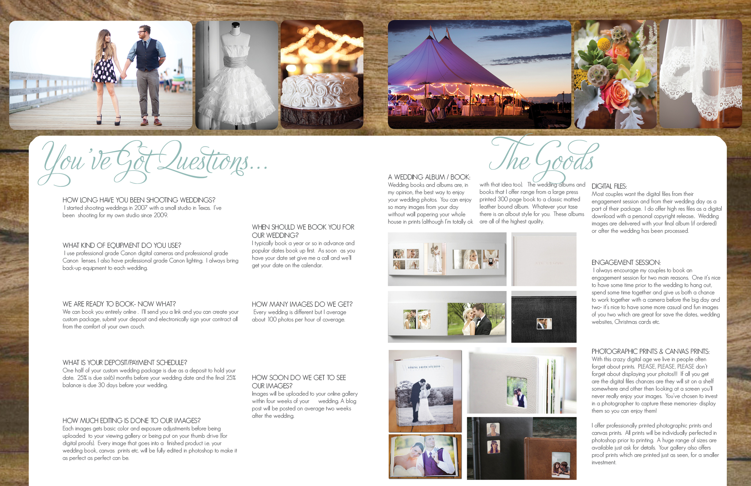 Wedding Info Package