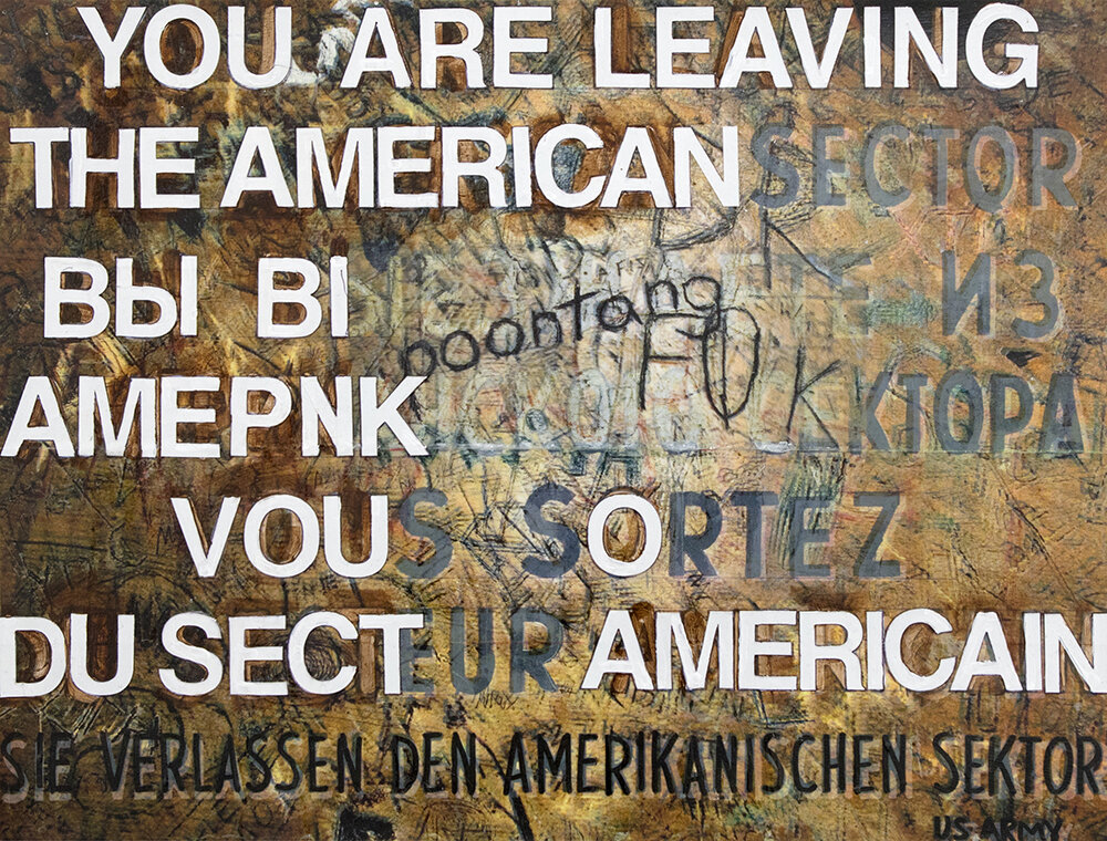 Leaving the American Sektor: Ana Wolovick: June 19 - Sept. 11, 2018