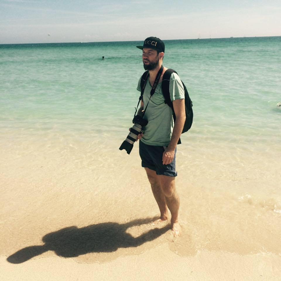 Fotograf stig jarnes, jobber for det meste i Oslo, men her på jobb i Miami