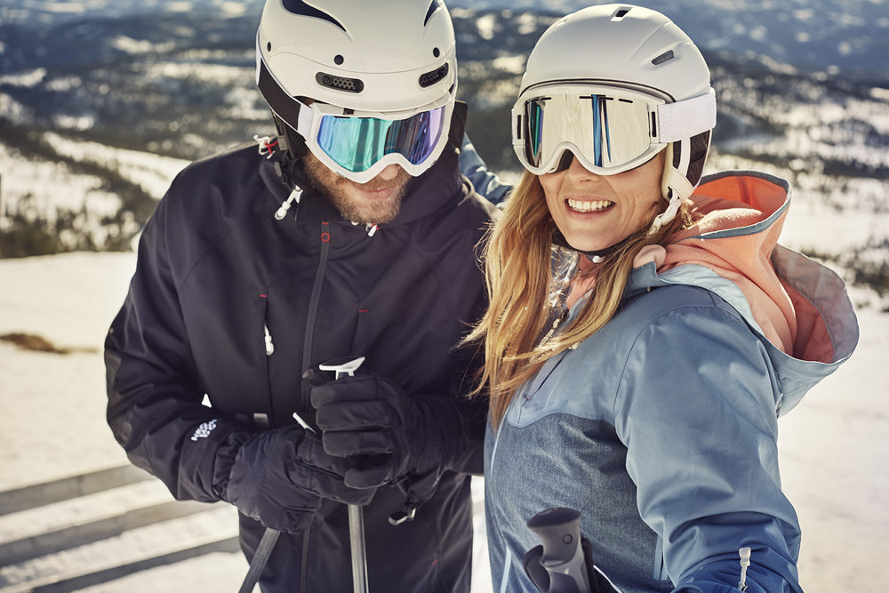 Ski Alpine Lifestyle Campaign shot in Norway for Neomondo/XXL