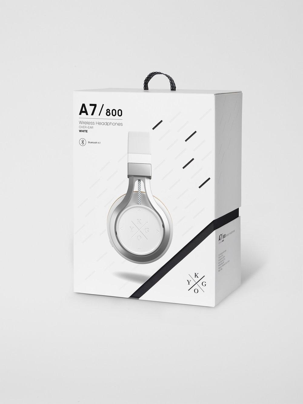 Produktbilde - Packshot - Produktfotograf i Oslo. Kygo Øretelefoner.