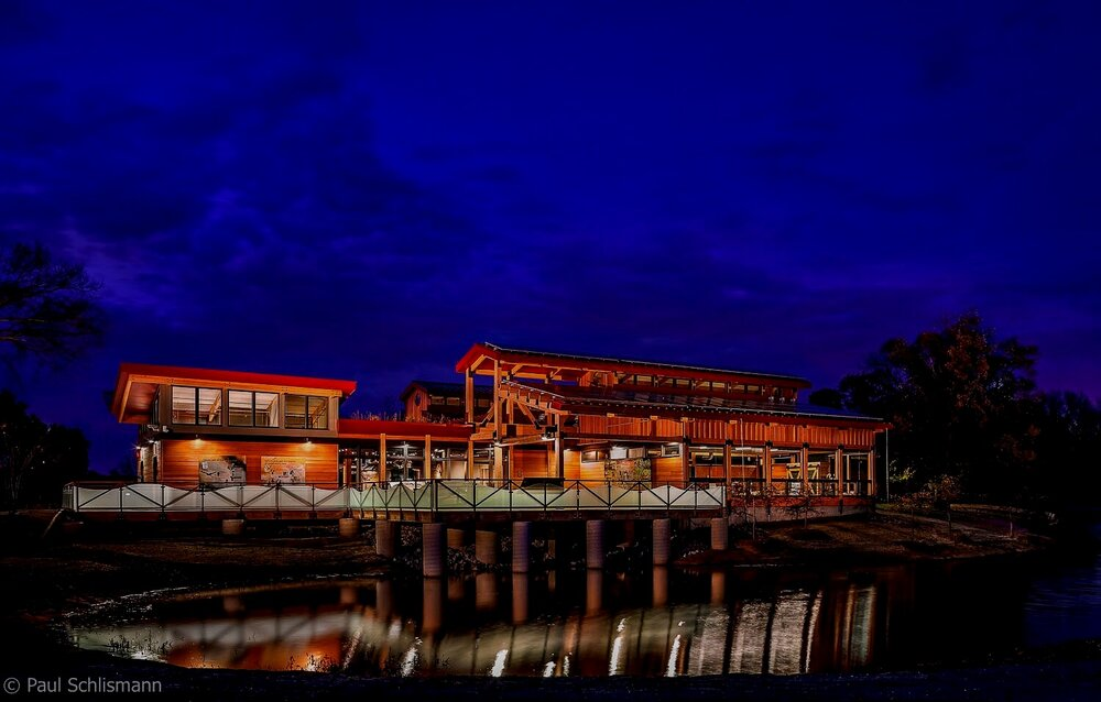 Milwaukee Architectural Photographer | dusk exterior of Nature Center