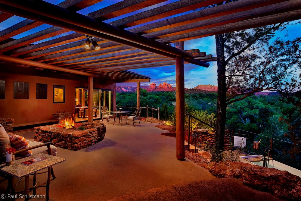 Los Angeles Architectural Photographer - Sun Cliff Resort, Sedona AZ.