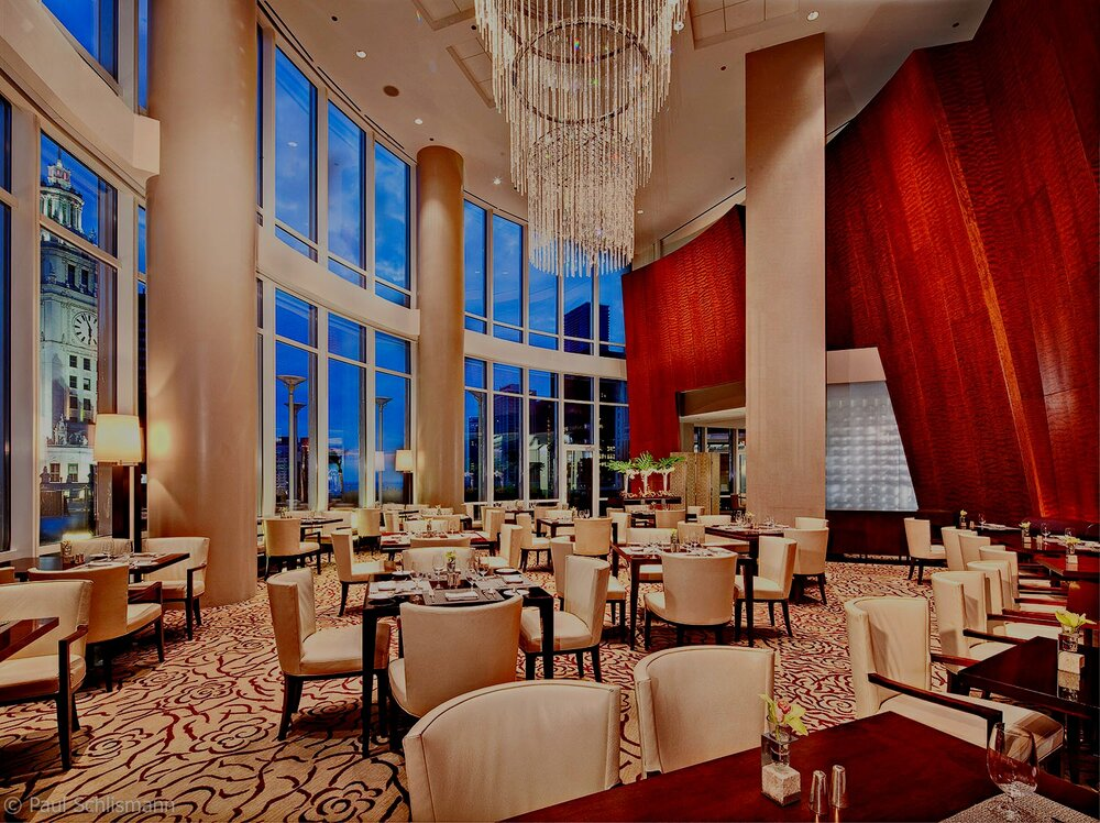 Trump tower restaurant _ Los Angeles Architectural Photographer
